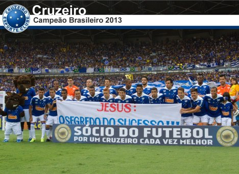 cruzeiro - tricampeao brasileiro